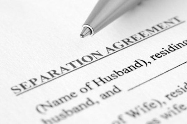 date of separation agreement